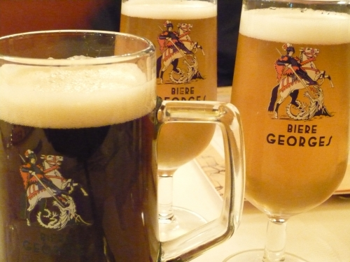bière, brasserie Georges, Lyon