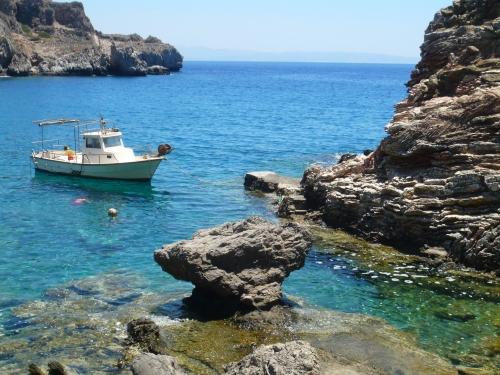 eau, mer, méditerrannée, Grèce, Crète, Aghios Pavlos