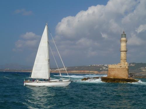 eau, mer, méditerrannée, Grèce, Crète, La Canée