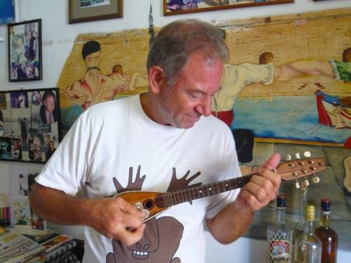 instruments de musique, Crète, voyages